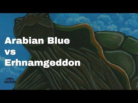 Arabian Mono Blue vs Erhnamgeddon, Old School Magic 93/94 (Swedish B&R)