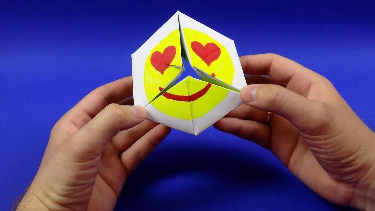 Оригами из бумаги бесконечная открытка видео, картинки
