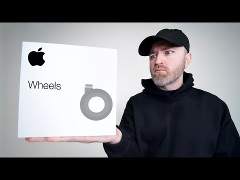 Unboxing Apple's 700 Dollar Wheels