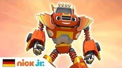 Blaze und die Monster-Maschinen | 'Roboter Power' Musikvideo 💪 | Nick Jr. auf Deutsch