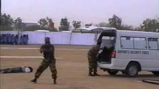 Open Room Combat ASF Sky Marshal Pakistan