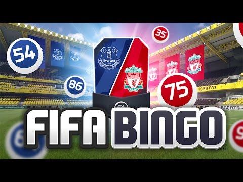 FIFA BINGO!!! MERSEYSIDE DERBY EDITION!!! Fifa 17 Pack Opening Challenge