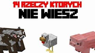 14 rzeczy, których nie wiedziałeś o Zwierzętach w Minecraft!