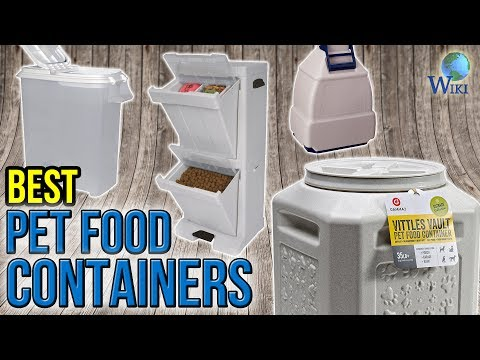 10 Best Pet Food Containers 2017