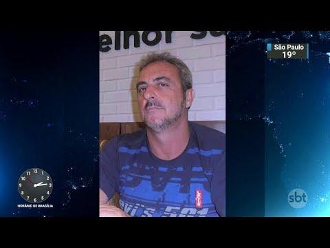 Homem é suspeito de matar o irmão dentro de casa no Paraná   SBT Notícias (23/10/17)