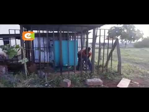 Generator worth .2.5 M  belonging to Tharaka Nithi County seized from former Governor Samuel Ragwa