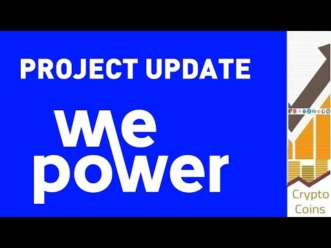 Project Update: WePower (WPR) the blockchain-based green energy trading platform