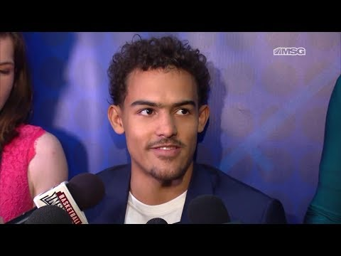 Trae Young Eager To Show He Can Play at NBA Level | New York Knicks | MSG Networks