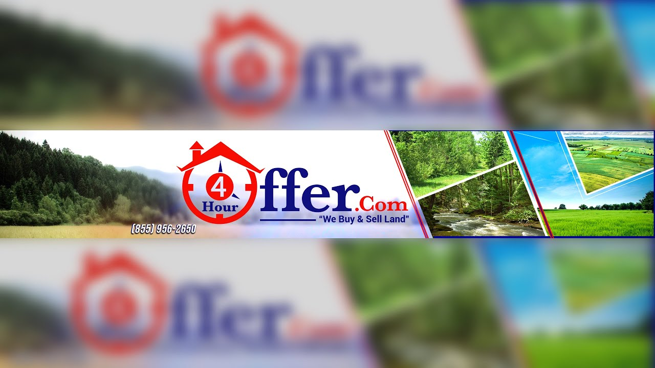 4HourOffer.com, buys and sells beautiful land nationwide. Many are sold with owner financing!
