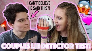 THE ULTIMATE COUPLES LIE DETECTOR TEST *This was BRUTAL* 😱