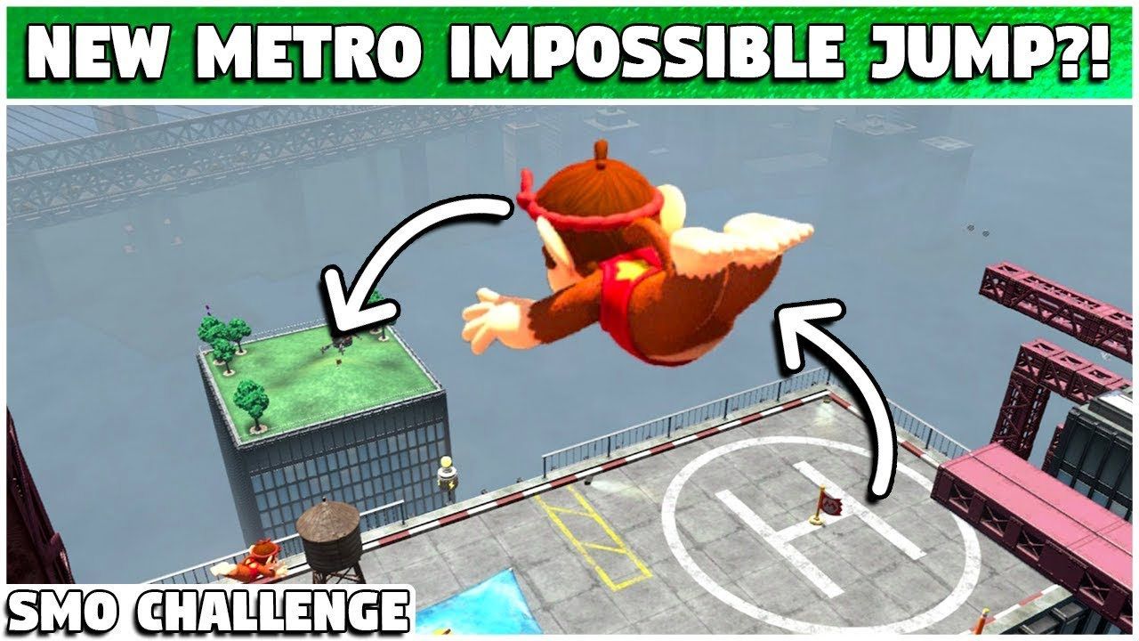 Another Metro Kingdom Impossible Jump Super Mario Odyssey Challenge