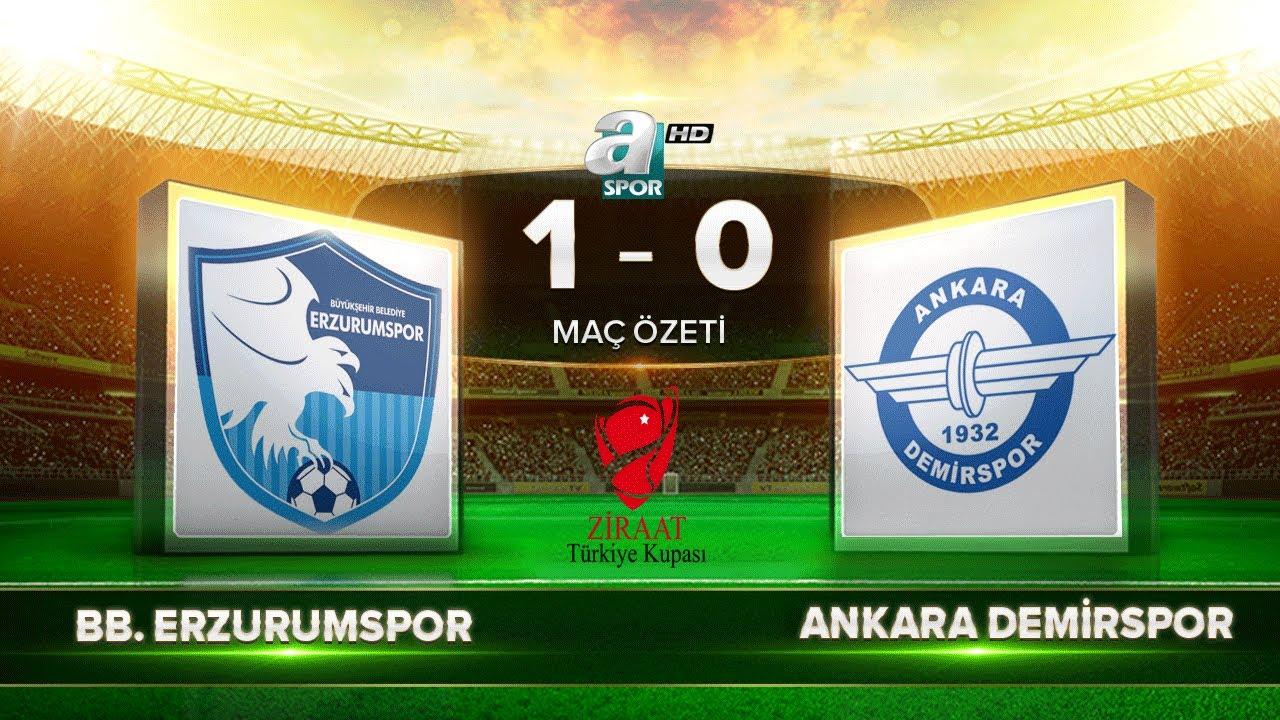BB Erzurumspor 1-0 Ankara Demirspor   Maç Özeti   A Spor