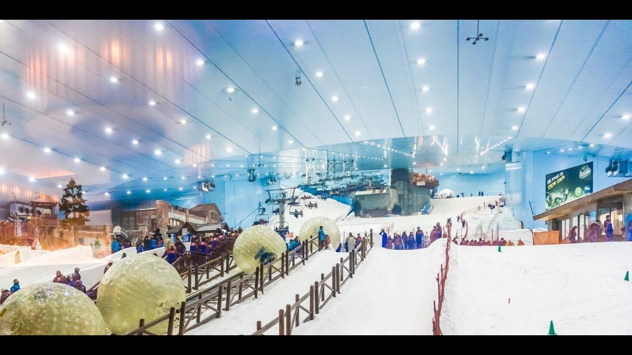 عالم الثلج سكي دبي مول الإمارات سياحة ذ كر أفضل من ذ كرك الله 24 ساعة Youtube