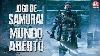 JOGO DE SAMURAI EM MUNDO ABERTO | GHOST OF TSUSHIMA...Dos Criadores de Infamous