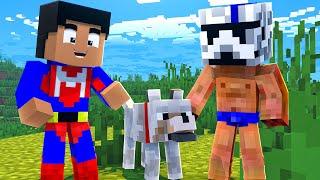 NOOBS EN BUSCA DE UN LOBO - Minecraft con Noobs #12