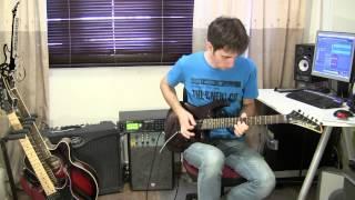 Kirill Safonov - Juniors Solo (Обучение игре на электрогитаре Guitar-Science.Ru)