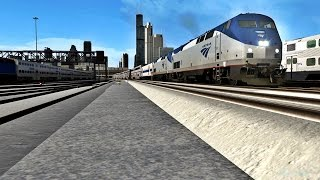 Train Simulator 2017 With Real Sounds - Amtrak Trains Teaser!