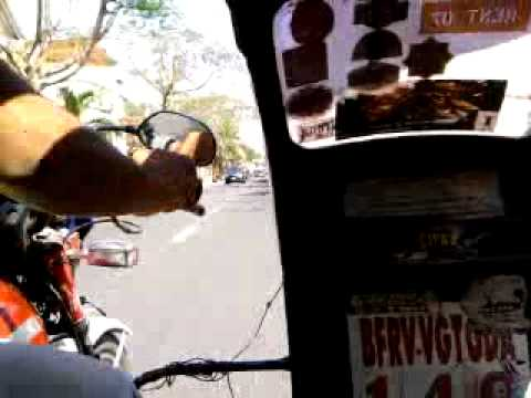 Sidecar of the tricycle in Las Pinas - YouTube