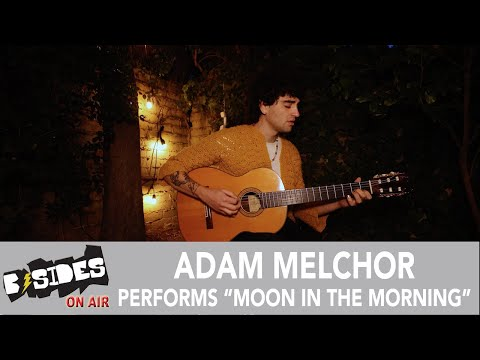 """Adam Melchor Performs """"Moon In the Morning"""" For B-Sides"""