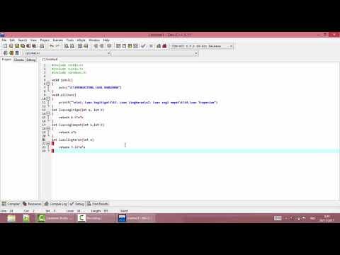 belajar fungsi dalam bahasa C