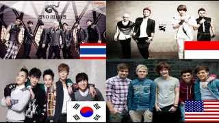 Evo Nine S4 BIGBANG & One Direction Boyband