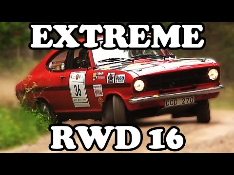 Extreme RWD Rallying | Action - Crashes - Moments