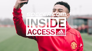 Behind the Scenes with Manchester United for adidas Blue Blast Launch