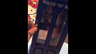 Dr. Who Tardis Jewelry Box Transformation