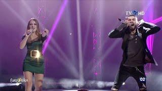 ilinca feat alex florea   yodel it finala eurovision românia 2017