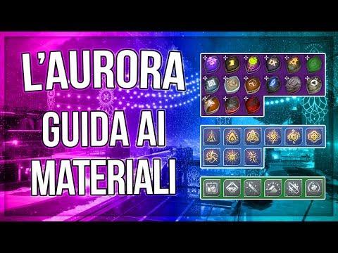 L' AURORA: GUIDA ai MATERIALI e INGREDIENTI - Destiny 2 | I Rinnegati thumbnail