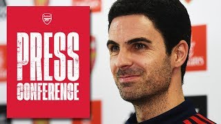 Mikel Arteta on Aubameyang, Zaha, Crystal Palace & the transfer window | Press Conference