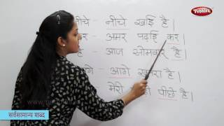 Reading Basic Hindi Words, Sentences | हिन्दी शब्द | Sight Words in Hindi | Hindi Phonics