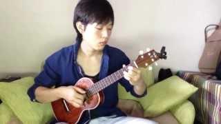 魔女の宅急便 ルージュの伝言 ソロウクレレ kiki s delivery service ukulele finger style
