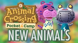 Animal Crossing NEW ANIMALS