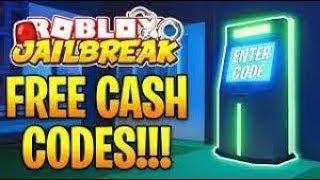 Roblox Jailbreak MONEY Codes 2019! (Jailbreak PROMO Codes)