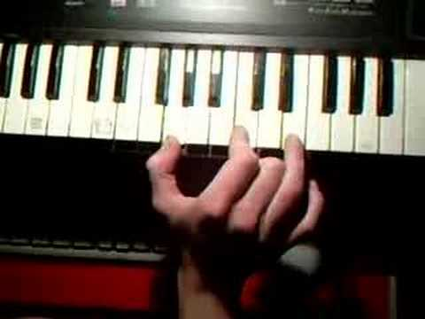 How To Play Van Halen Jump Intro On Piano Simple Youtube