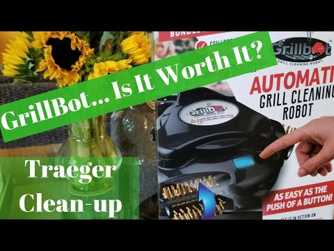 GrillBot Grill Cleaner - Traeger Clean-Up