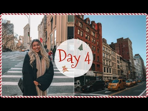 VLOGMAS DAY 4 // Discount Shopping in New York City!