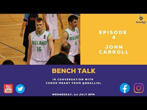 Bench Talk Episode 4 - John Carroll