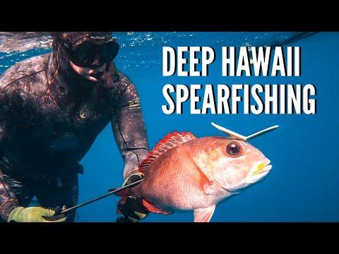 Spearfishing Hawaii Deep Reef Hunting {HOW TO}