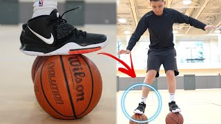 Testing Kyrie Irving's New Basketball Shoes! | Nike Kyrie 6 Performance Test/Review