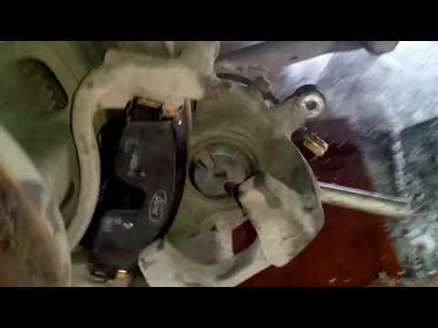 Форд Транзит замена задних тормозных накладок