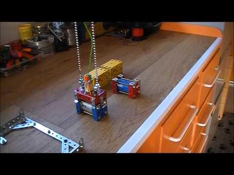 Containerkraan  Meccano part 1
