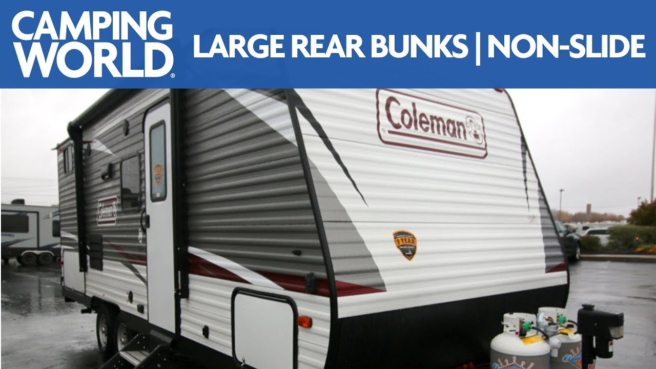 2019 coleman lantern lt 215bh travel trailer rv review camping world [ 1280 x 720 Pixel ]