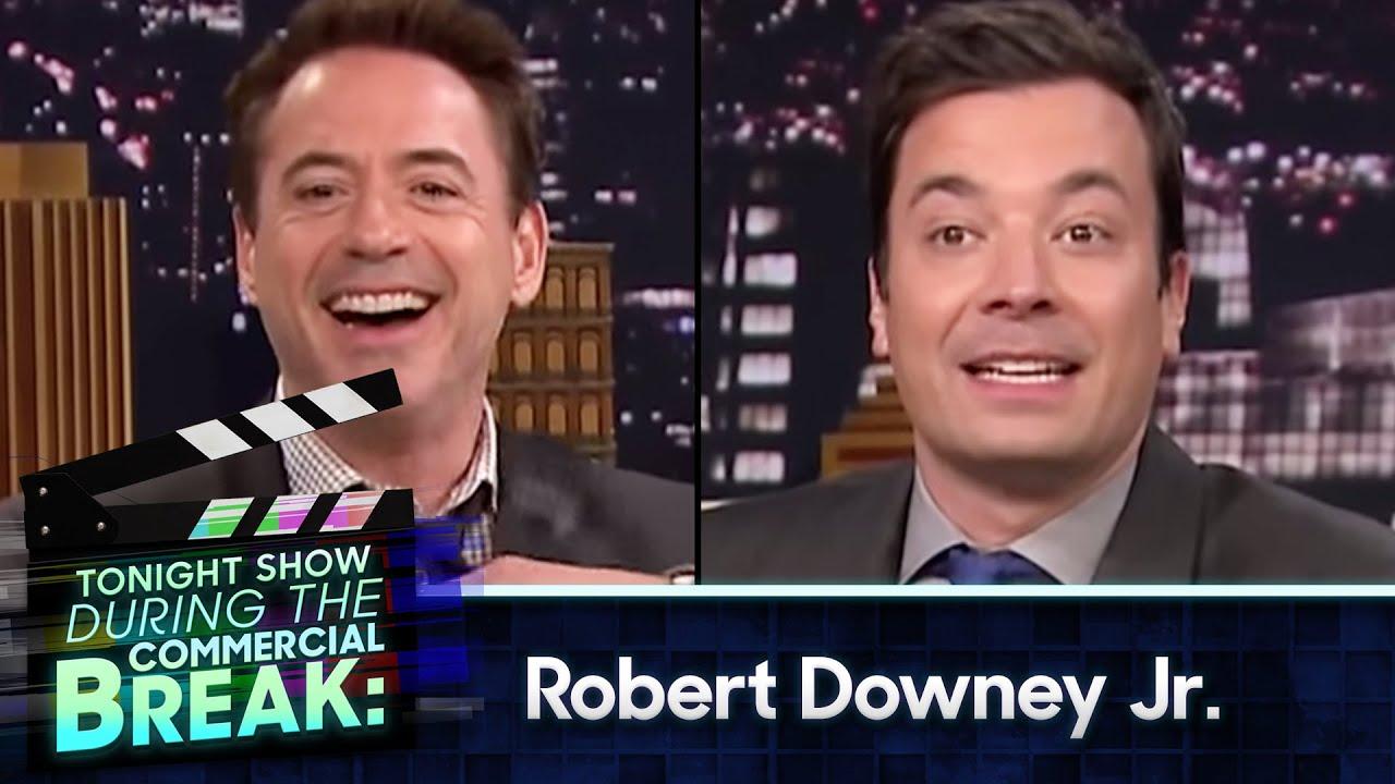Jimmy Kimmel robert downey jr