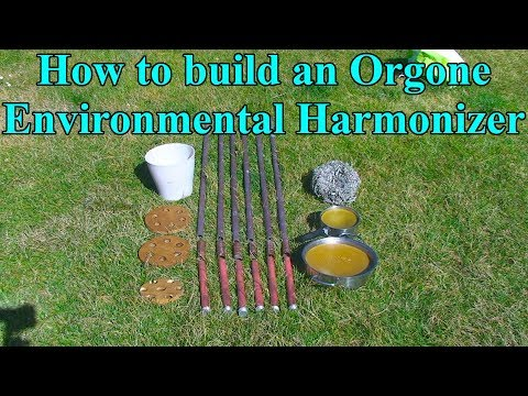 How to build an Orgone Environmental Harmonizer (chembuster)