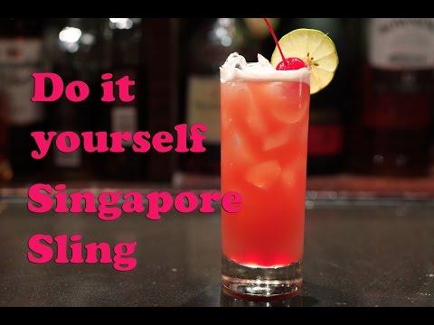 วิธีทำ Singapore Sling