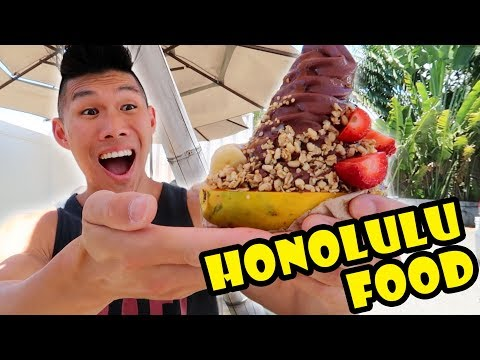 FOOD TOUR HONOLULU, HAWAII -- Hometown CRAVINGS || Life Afte