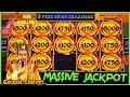 HIGH LIMIT Dragon Cash Link MASSIVE HANDPAY JACKPOT 🐲GOLDEN CENTURY HAPPY & PROSPEROUS Slot Machine