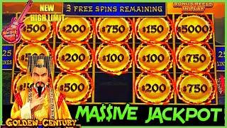 Download lagu HIGH LIMIT Dragon Cash Link MASSIVE HANDPAY JACKPOT 🐲GOLDEN CENTURY HAPPY & PROSPEROUS Slot Machine
